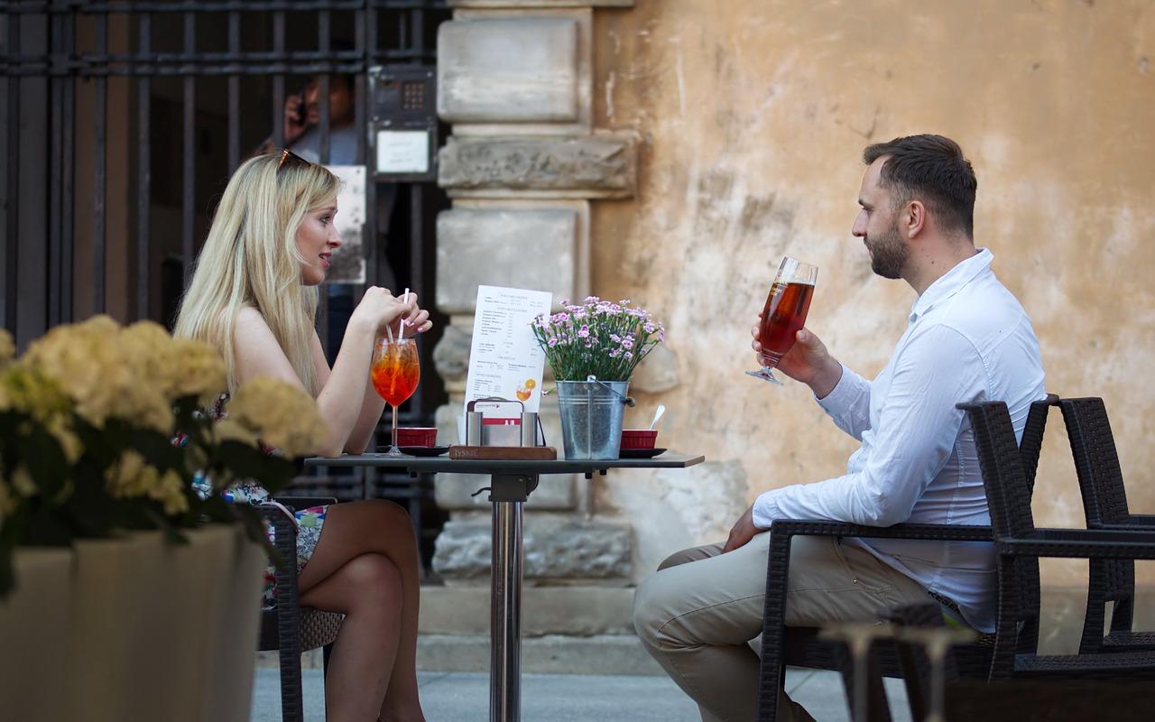 Week end en amoureux repas